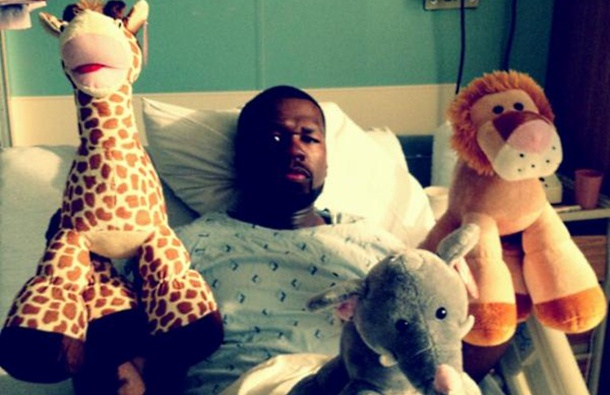 50 Cent u bolnici