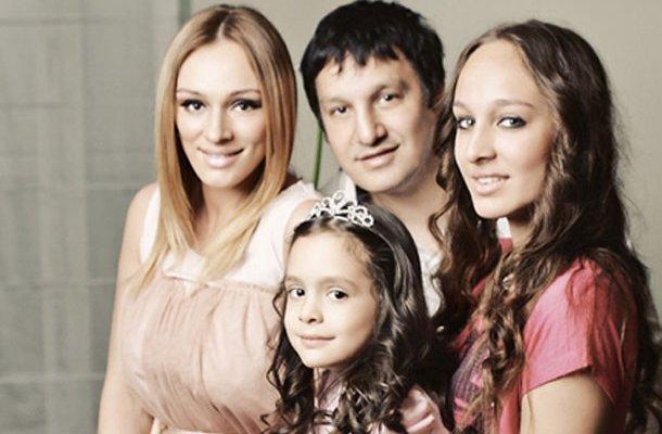 Anabela i Gagi sa ćerkama