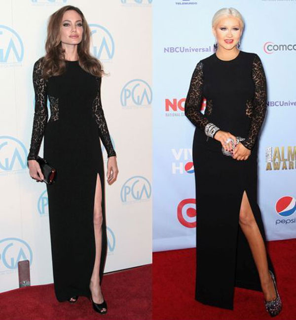 Angelina Jolie vs. Christina Aguilera