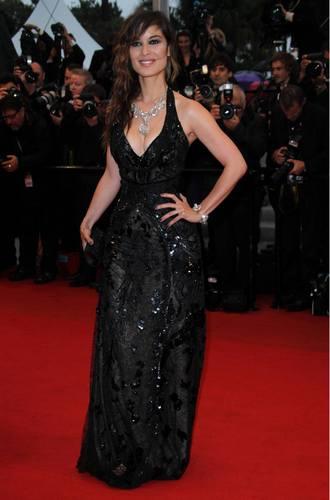 Berenis Marlo u haljini marke Roberto Cavalli