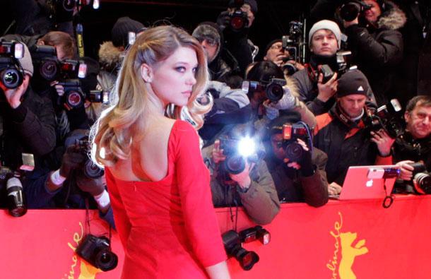 Lea Sajdu na crvenom tepihu