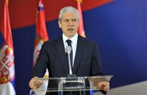 Boris Tadić na konferenciji za novinare