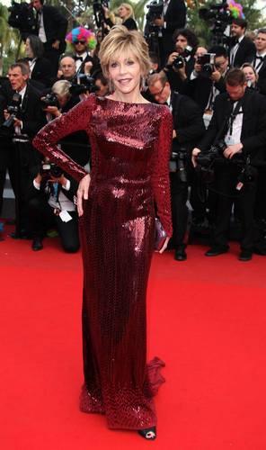 Džejn Fonda u haljini marke Roberto Cavalli