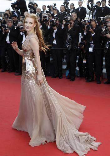 Džesika Častejn u haljini marke Gucci