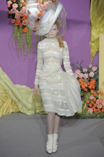 Diorova modna revija visoke mode
