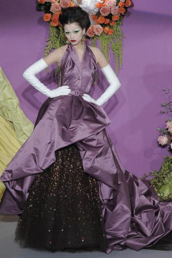 Haljina iz Diorove kolekcije visoke mode