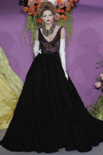 Svečana haljina iz Diorove kolekcije