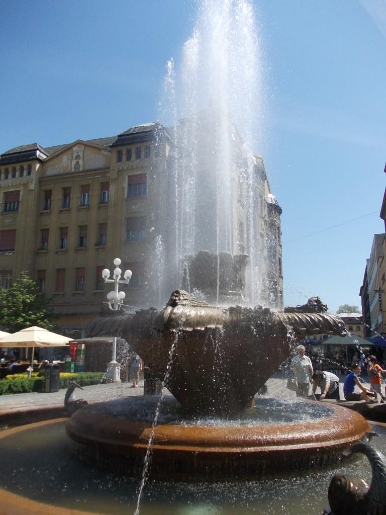 Fontana na Trgu ujedinjenja