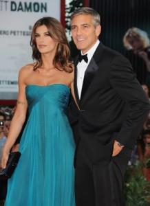 Džordž Kluni i Elizabeta Kanalis