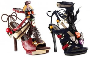 Dior sandale sa ukrasima