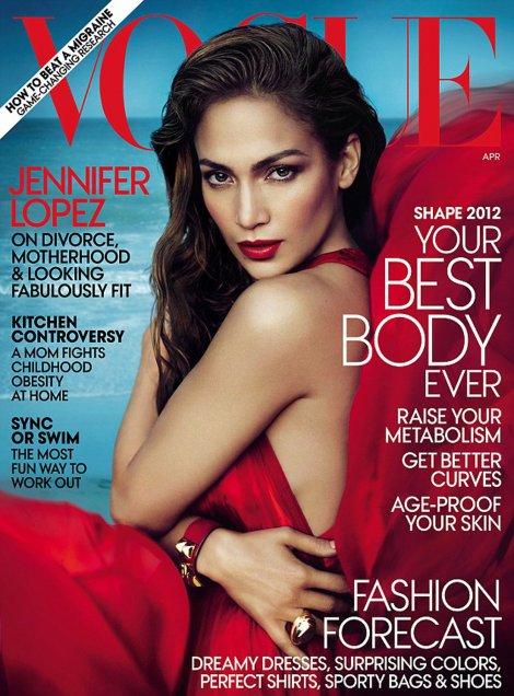 """Dženifer Lopez na naslovnici """"Vogue"""" magazina"""