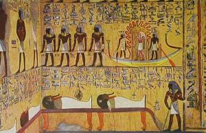 Crtež na zidu grobnice faraona Setija I