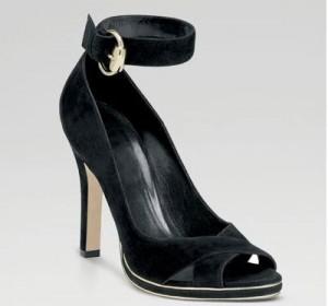Crne Gucci sandale