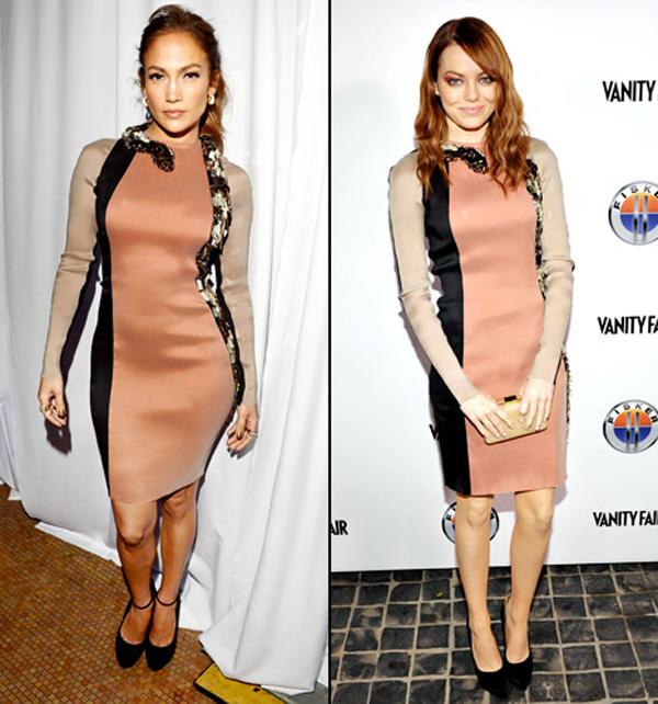Jennifer Lopez vs. Emma Stone