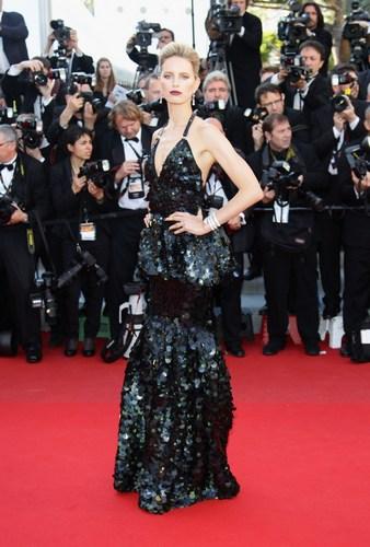 Karolina Kurkova u haljini marke Roberto Cavalli
