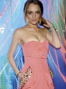Lindsay Lohan u Williamsonovoj haljini