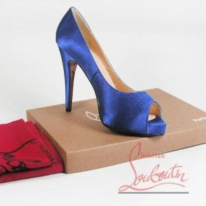 Plave Louboutin cipele
