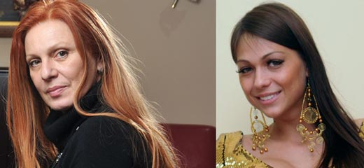 Maja Odžaklijevska i Milica Nastić