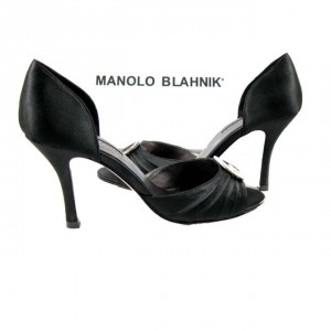 Elegantne crne Manolo Blahnik cipele
