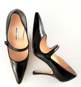 Manolo Blahnik cipele u stilu 40-ih