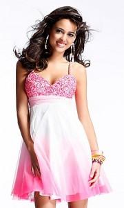 Maturska haljina u pink varijanti