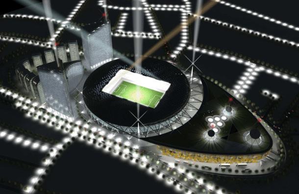 Planirani izgled novog stadiona Crvene zvezde