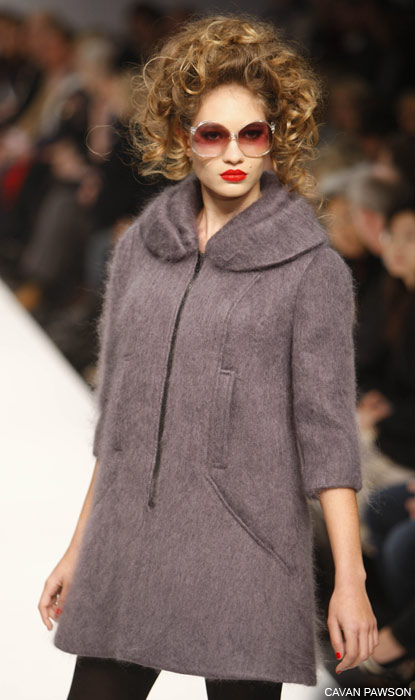 Model Paul Costelloe-a, Londonska nedelja mode 2009. godine