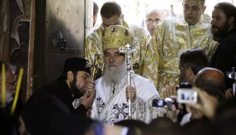Patrijarh srpski Irinej danas ustoličen u Pećkoj patrijaršiji