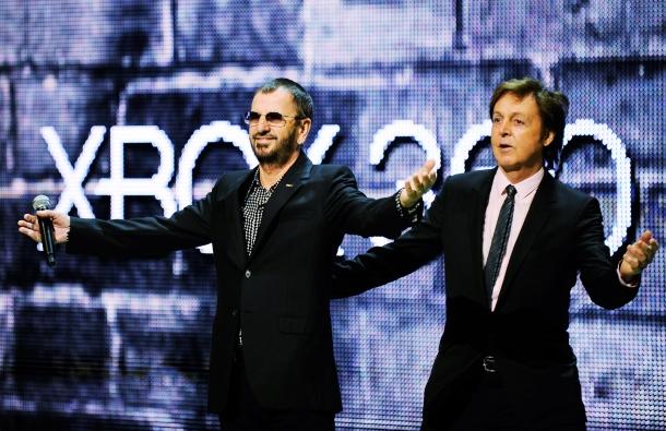 Pol Mekartni i Ringo Star