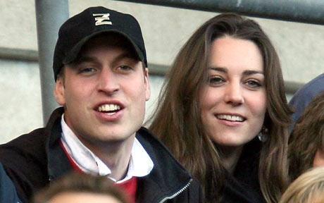 Princ Vilijam sa devojkom Kejt Midelton