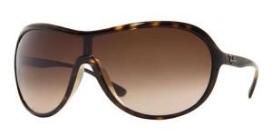Ray-Ban sunčane naočare u braon boji