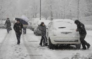 Sneg u Hrvatskoj