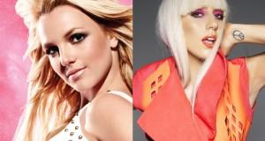 Pevačice Britni Spirs i Lady Gaga