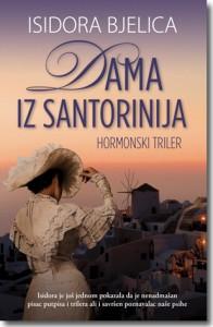 knjiga Dama iz Santorinija
