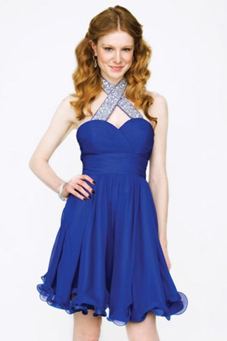 Indigo plava haljinica