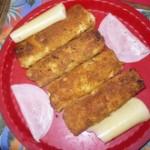 Pohovane palačinke sa šunkom